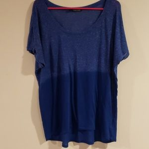 Maurices  two tone blue T